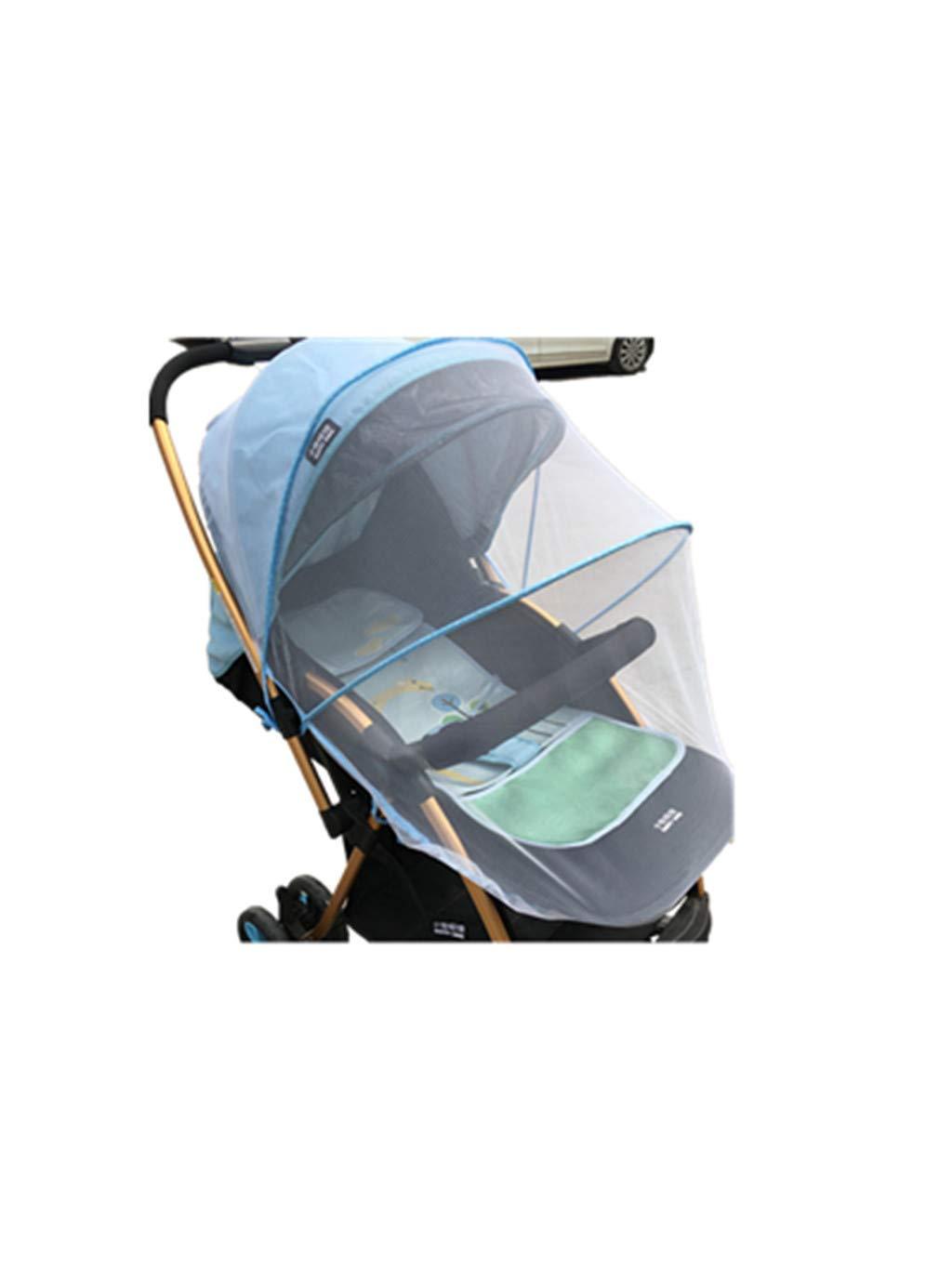 Blau SUMTTER Faltbar Moskitonetz f/ür Kinderwagen /& Buggy Reisebett waschbar Universal Insektenschutz mit Gummizug und Sonnenschutz UV