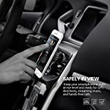 Car Phone Holder,Mpow MagGrip 360 Degree Swivel Air Vent Magnetic Universal Car Mount Phone Holder Cradle for iPhone 6S/6s Plus/6/6 Plus/5S/5C/SE, Galaxy Note 4/3, Samsung Galaxy S5/ S6/ S6 Edge/S7 /SE Edge and Other Smart Phone Bild 5