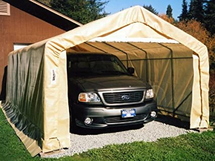 Amazon.com  Portable Carports |Instant Garages | Vehicle Shelters (Green House 12Wx20Lx8H)  Garden u0026 Outdoor & Amazon.com : Portable Carports |Instant Garages | Vehicle Shelters ...