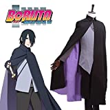 FOCUS-COSTUME BORUTO NARUTO THE MOVIE Uchiha Sasuke Cosplay Costume