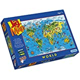 Gibsons Jigmap World Jigsaw Puzzle (250 Pieces)