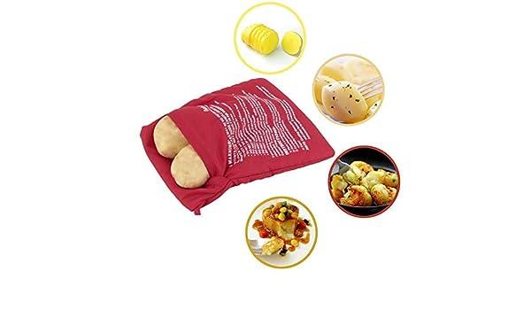 Potato Express - Bolsa de patatas para horno, microondas, horneado ...