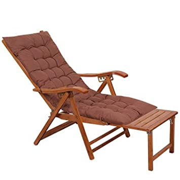 SHUSHI Tumbonas, sillas de bambú, almuerzos Plegables ...