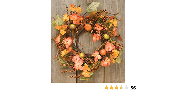 Farmhouse Decor Fall Wreaths SHIPS FREE Fall Decor Apple Wreath Candle Decor Modern Farmhouse Decor Fall Wreath Mini Wreath