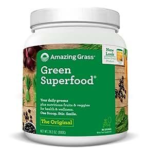 Amazing Grass Green Superfood Original, 100 Servings, 28.2 Ounces