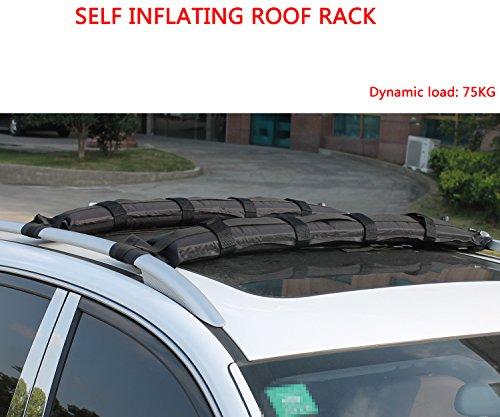 Iztoss Self Inflatable Car Roof Rack Ski Rack Snowboard