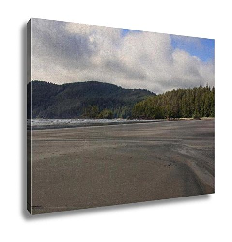 Ashley Canvas Beach At San Josef Bay On The West Coast Of Vancouver Island Wall Art Decoration Picture Painting Photo Photograph Poster Artworks, 20x25