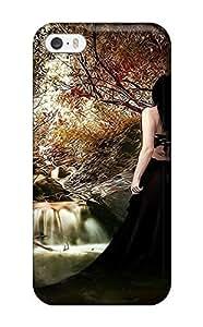 DeniseMA PzQnroE3160zGnEk Case Cover Skin For Iphone 5/5s (women Artistic Abstract Artistic)Kimberly Kurzendoerfer