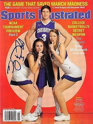 Doug McDermott Signed Sports Illustrated w/COA Creighton Blue Jays Basketball