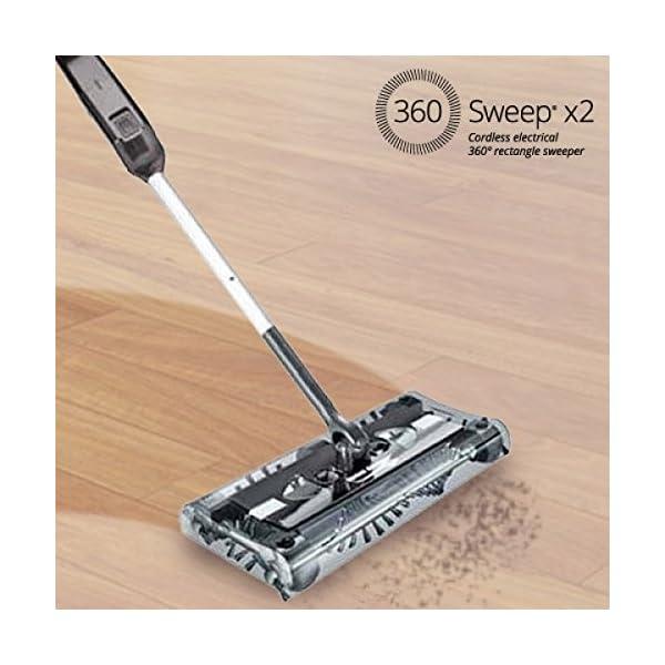 360 Sweep Rectangular Electric Sweeper - (UK 3 Pin Plug)