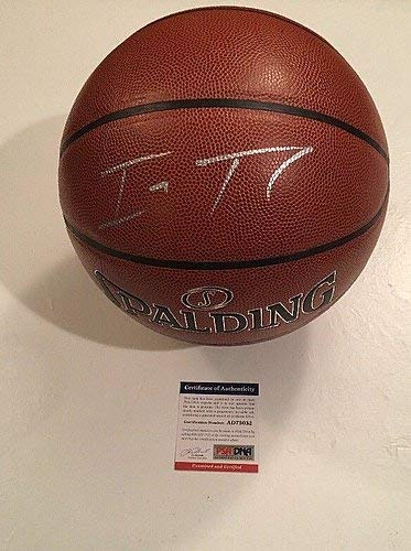 385adf0b2eb Isaiah Thomas Cavaliers Signed Basketball Ball - PSA DNA Authentic ...