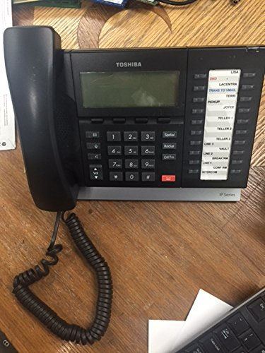 Toshiba IP5132-SD IP Telephone w/ handset by Toshiba