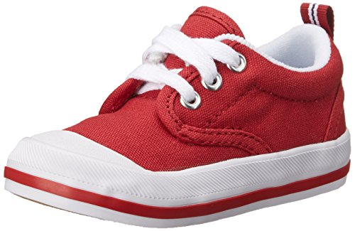 Keds Graham Classic Lace-Up Sneaker (Toddler),Red,7 M US