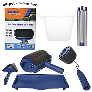 lamptop pack of 8pcs paint runner roller kit. Black Bedroom Furniture Sets. Home Design Ideas