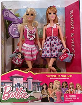 Barbie Life in The Dreamhouse Barbie and Midge Doll Giftset, Pack of 2
