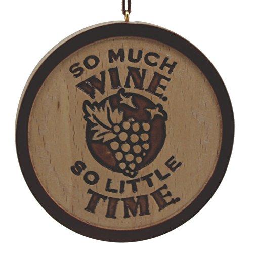 Hallmark Signature So Much Wine Cheers Wooden Holiday ()