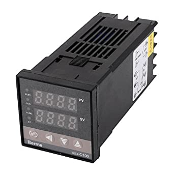 Controlador DealMux AC 100-240V PID Controle Digital Output Sensor de temperatura: Amazon.com: Industrial & Scientific