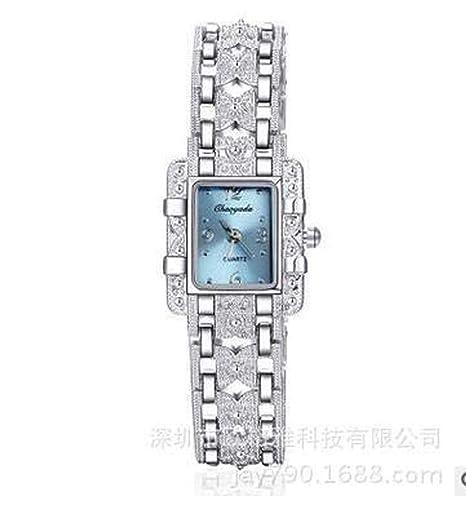 Hermosos Relojes de aleación de Moda Reloj Reloj Reloj Mujer 2017: Amazon.es: Relojes