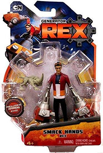 Generator Rex Action Figure Smack Hands Rex