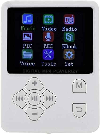 Reproductores de MP3, 1,8 Pulgadas Pantalla en Color Ligero HiFi ...