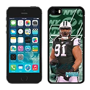 NFL New York Jets iPhone 5C Case 065 NFL Iphone 5C Case by kobestar