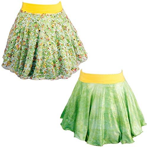 Spinning Tales Little Girls' Lovely Lace Twirl Skirt - Reversible (4/5)