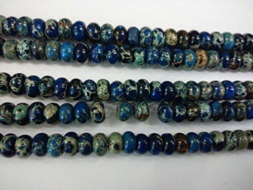Jasper Rondelle Beads - 3