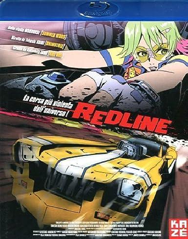 Redline Blu Ray 2011 Amazon Co Uk Yoji Enokido Yoshiki Sakurai Katsuhito Ishii Takeshi Koike Dvd Blu Ray