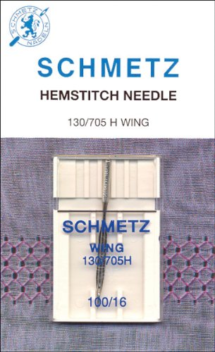 Euro-Notions Hemstitch Needle, Size 100, 1-Pack