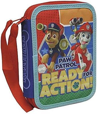 Plumier doble de Paw Patrol La Patrulla Canina (2/20): Amazon.es: Juguetes y juegos