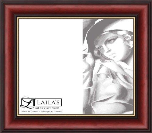 Laila's Decorative Certificate Frame 6140, Burgundy by Laila's