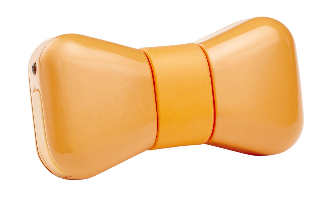 WonderWoof BowTie Activity Monitor, Orange