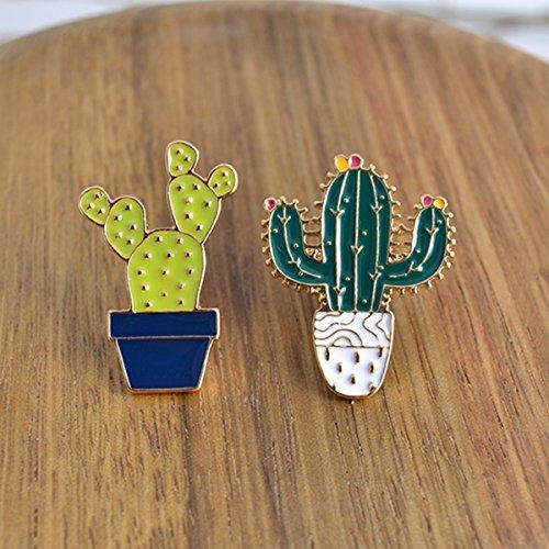 MeliMe Funny Enamel Brooch Pin Set Cute Cartoon Brooches Lapel Pins