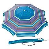 Abba Patio 7 Feet Beach Umbrella with Sand Anchor