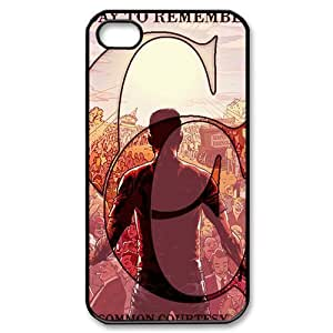Customize Famous Rock Band A Day To Remember Back Case for iphone4 4S JN4S-1708