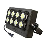 50W LED Flood Light Outdoor Waterproof, 350W Equivalent, 3500lm Bright Security Light, LED Work Light, 5700K White, Floodlight Lamp for Garage Garden Yard Lawn Landscape Wall, 5-Year Warranty, SANSI