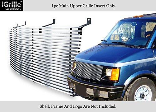 Fits 85-94 Chevy Astro Van/GMC Safari Van Stainless Steel Billet Grille (1985 85 Chevy Gmc Van)