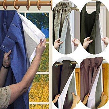 (Rod Pocket Single Curtain Liner Size: 45