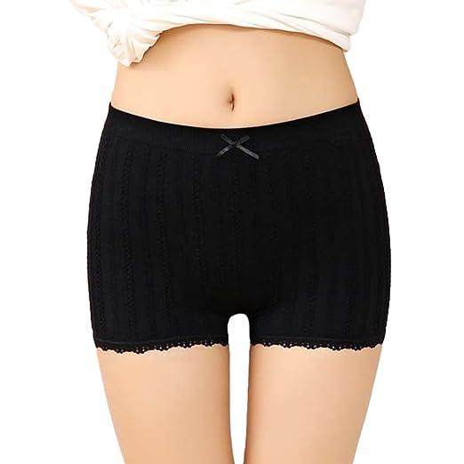 40c5e6191ac1 LUOEM Women Boyshort Underskirt Pant Short Leggings oga Bike Shorts ...