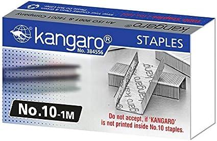 /1/M Kangaro kan10/ /99/grapas N/úmero 10/ Ampolla 2/x 1000/unidades