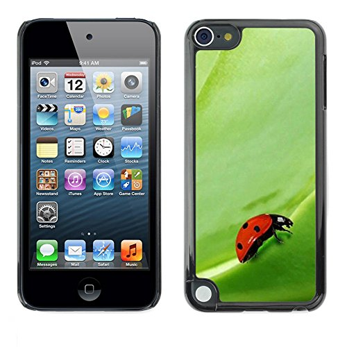 Soft Silicone Rubber Case Hard Cover Protective Accessory Compatible with Apple IPod Touch 5 - Plant Nature Forrest Flower 104