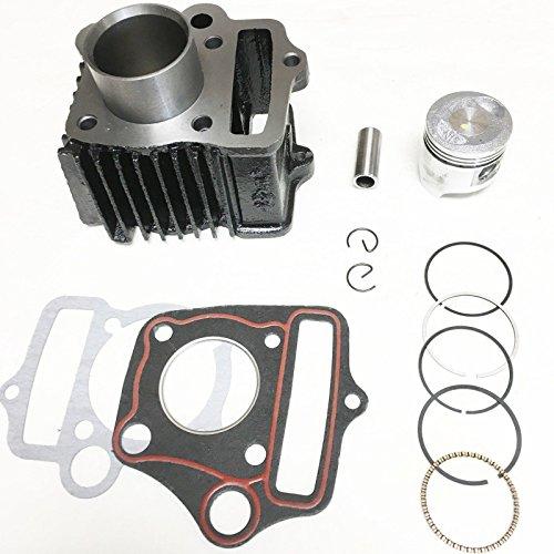 Lumix GC Gasket Piston Clip Cylinder Kit For Honda Z50A Z50R Z50RD ZB50 Mini Trail (Honda Piston Kits)