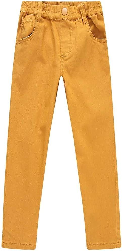 Richie House Big Boys Ginger Elastic Waistband Leisure Pants 8//9 Brown