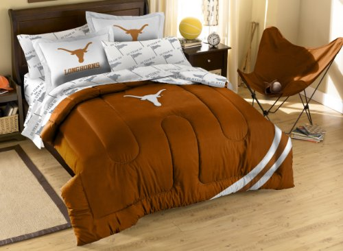 The Northwest Company Officially Licensed NCAA Texas Longhorns Full Bedding Set