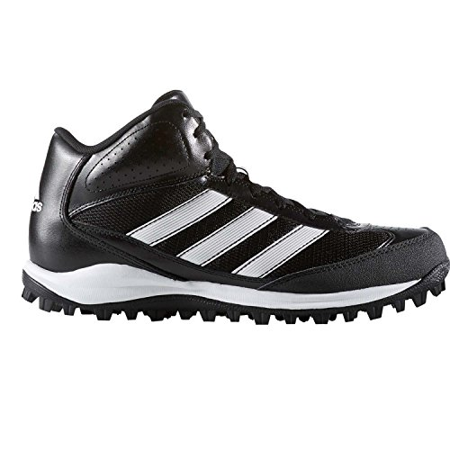 d60c1cfde17c Galleon - Adidas Performance Men's Turf Hog LX Low Football Cleat,Black/ White,11 M US