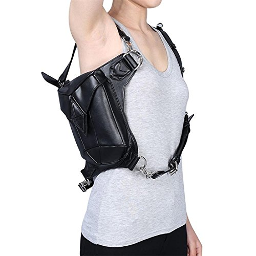 Bag Bag Crossbody Bag Tactical Use Holster Mn Bag amp;Sue Bum Thigh for Dual Military Waist Women Shoulder px64gXqwA