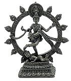 Bellaa 26973 Dancing Nataraja Shiva Statue Divine Hindu God 6 inch
