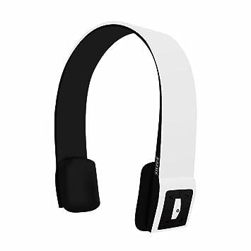 Blanco Infinity Auriculares inalámbricos Bluetooth con controles de música y llamadas de micrófono: Amazon.es: Electrónica