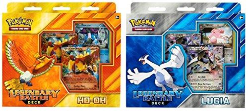 Pokemon TCG: Legendary Battle Decks, Lugia & Ho-Oh Bundle (Legendary Battle Decks Ho Oh And Lugia)