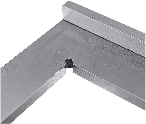 Ingeniero escuadra de 90 grados de /ángulo recto con asiento rectificado de precisi/ón Regla de acero endurecido /ángulo 50x40 75x50 100x70mm,100x70mm
